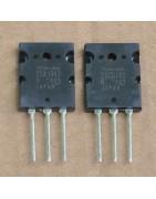 Transistores Bipolares (NPN, PNP), SCR, TRIAC, mosfet, Jfet, UJT, diodo rectificador, diodo zener, diodo switch, diodo de avalancha, puente rectificador... varios