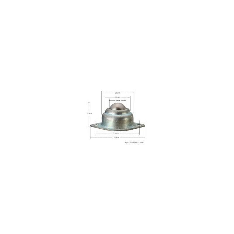 Capacitor electrolítico radial, de 2200 uF (micro Faradios) a 50 Volts