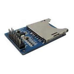 Plug RCA metálico con resorte.