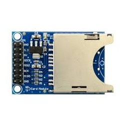 Plug metálico (TRS) de 6.3 milímetros en escuadra.