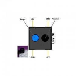 Transistor bipolar de potencia, tipo NPN TO-220