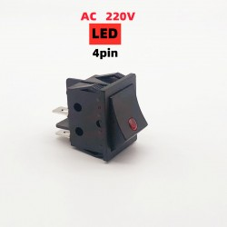 KCD4-AC220R Interruptor de...