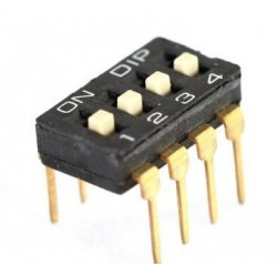 Dip switch 4pin alta calidad