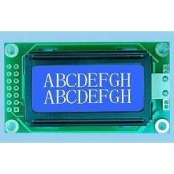 Módulo LCD 8X2 azul o verde...